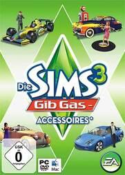 Die Sims 3 Addon 4 Gib Gas-Accessoires - PC-DVD/MAC