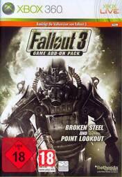 Fallout 3 Addon 3 Steel & 4 Point, uncut - XB360