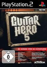 Guitar Hero 5, gebraucht - PS2