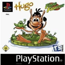Hugo Frog Fighter, gebraucht - PSX