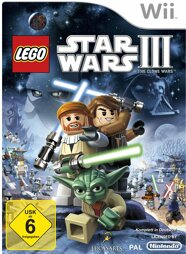 Lego Star Wars 3 The Clone Wars - Wii