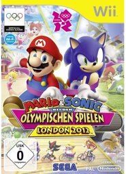 Mario & Sonic Olympischen Spielen London 2012, gebr. - Wii