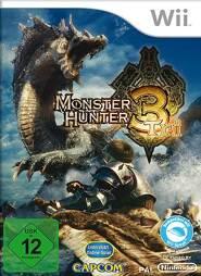 Monster Hunter 3 Tri, gebraucht - Wii