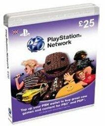Playstation Network Card 25 GBP (UK) - PSN