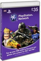 Playstation Network Card 35 GBP (UK) - PSN