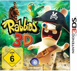Rabbids 3D, gebraucht - 3DS
