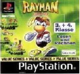 Rayman Junior 3.+ 4. Klasse, gebraucht - PSX
