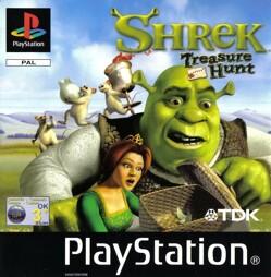 Shrek 1 Treasure Hunt, gebraucht - PSX