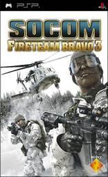 SOCOM 4 U.S. Navy Seals Fireteam Bravo 3 - PSP
