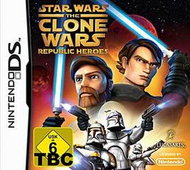 Star Wars The Clone Wars Republic Heroes - NDS