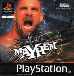 WCW Mayhem, gebraucht - PSX