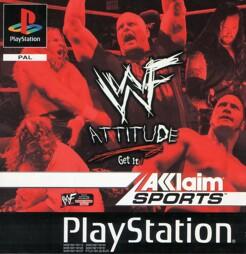 WWF Attitude, gebraucht - PSX