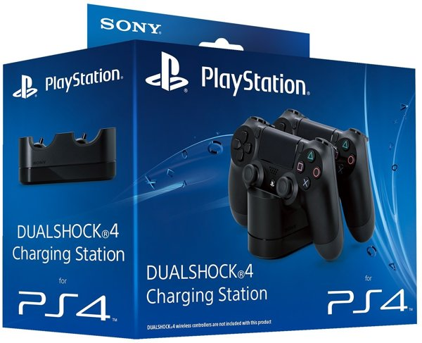 Controller-Akku Ladestation (2 Pads), Sony - PS4 .