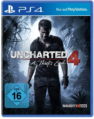Uncharted 4 A Thiefs End - PS4 .