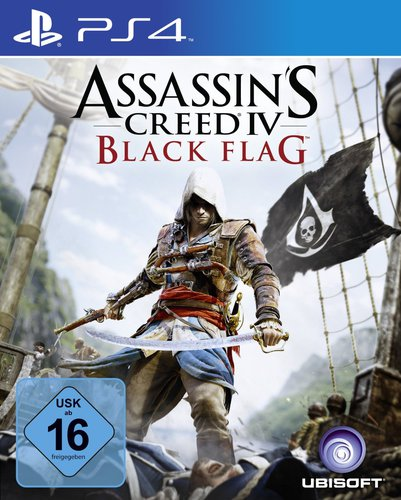 Assassins Creed 4 Black Flag - PS4 .