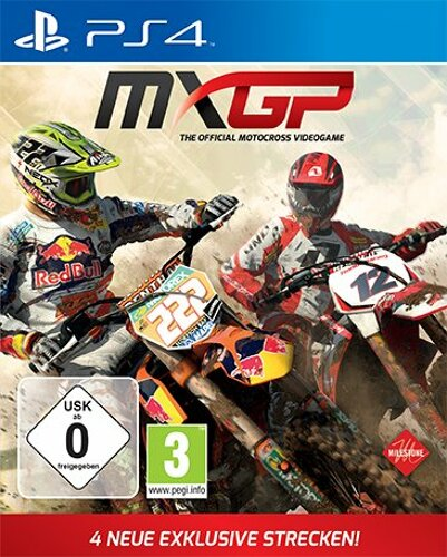 mx gp 1 das offizielle motocross spiel gebraucht ps4. Black Bedroom Furniture Sets. Home Design Ideas