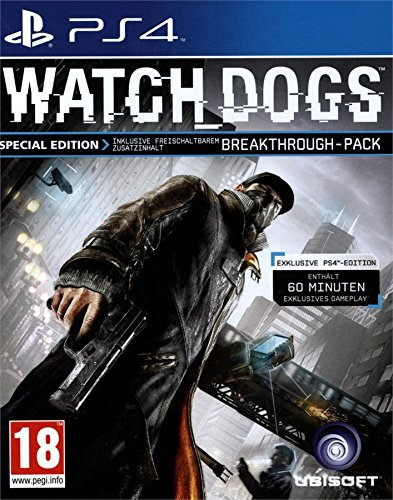 watch dogs 1 special edition gebraucht ps4 g nstig. Black Bedroom Furniture Sets. Home Design Ideas