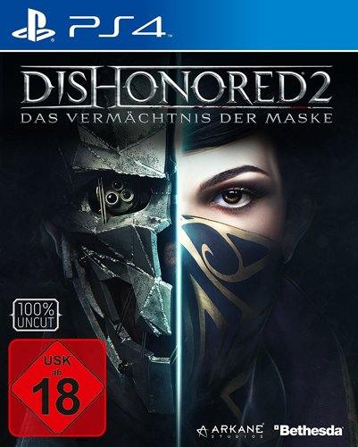 Dishonored 2 Das Vermächtnis der Maske Day One Ed. - PS4