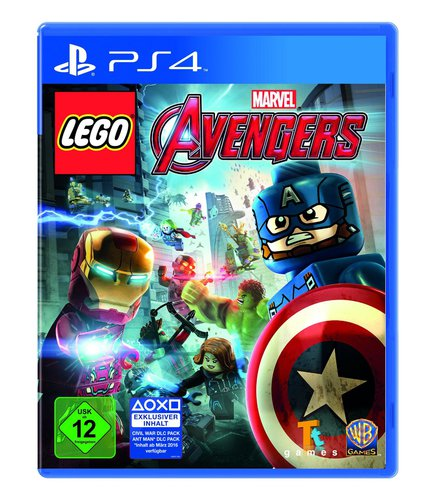 Lego Marvel Avengers - PS4 .