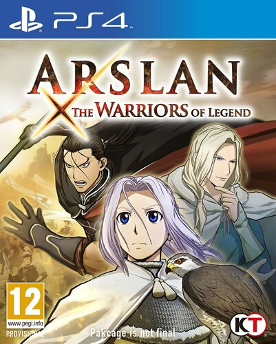 Arslan The Warriors of Legend - PS4 .