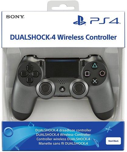 Controller Wireless, DualShock 4, steel black V2, Sony - PS4 .