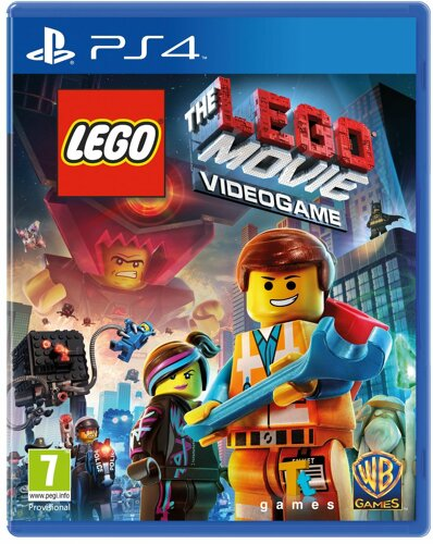 Lego The Lego Movie 1 Videogame, engl. - PS4 [EU Version]