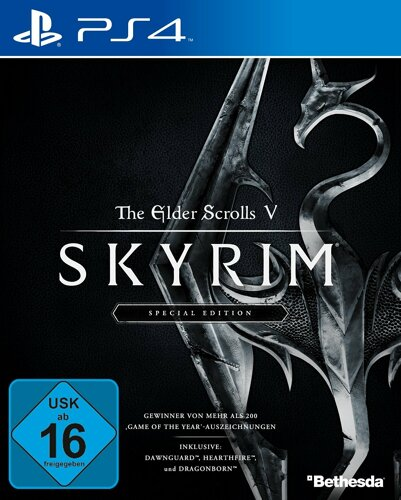 The Elder Scrolls 5 Skyrim Special Edition GOTY - PS4 .