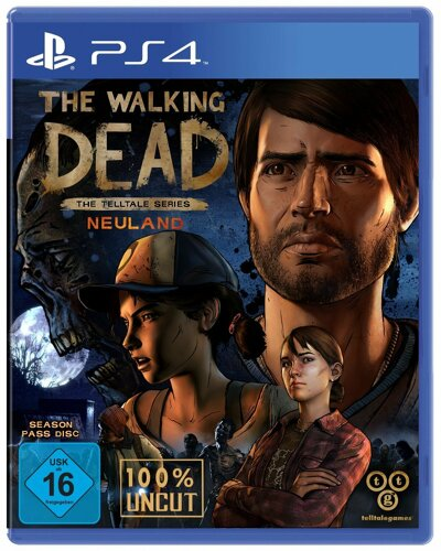 The Walking Dead 3 Neuland - PS4 [EU Version] .