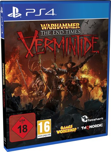 Warhammer The End Times Vermintide 1 - PS4 [EU Version] .