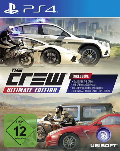 The Crew 1 Ultimate Edition (inkl. Addons) - PS4 [EU Version]