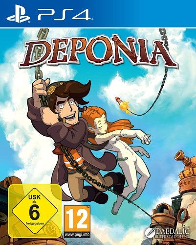 Deponia - PS4 .