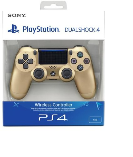 Controller Wireless, DualShock 4, gold, V2, Sony - PS4 .