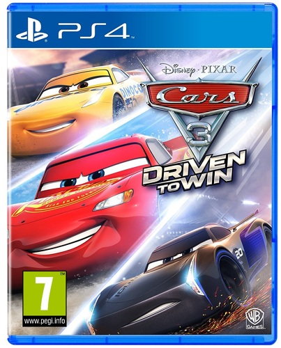 Cars 3 Driven to Win - PS4 [EU Version] .