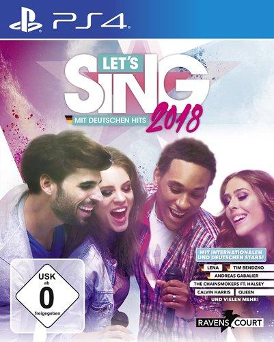 Let's Sing 2018 mit deutschen Hits - PS4 .