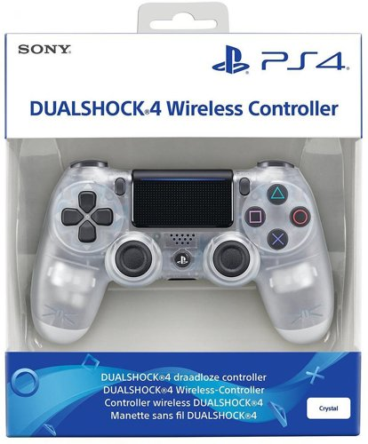 Controller Wireless, DualShock 4, crystal, V2, Sony - PS4 .