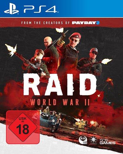 RAID World War II - PS4 .