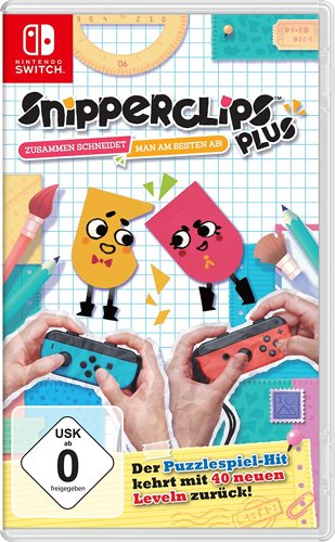 Snipperclips Plus Cut it out, together! - Switch .