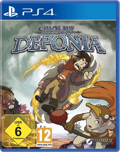 Chaos auf Deponia - PS4 .