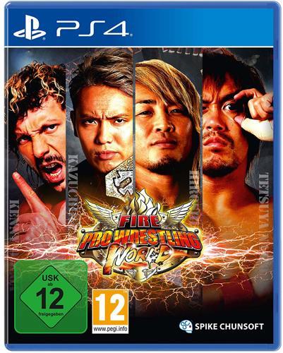Fire Pro Wrestling World - PS4 .