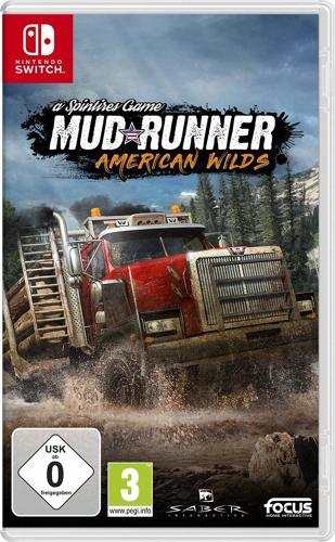 mud runner a spintires game american wilds switch. Black Bedroom Furniture Sets. Home Design Ideas