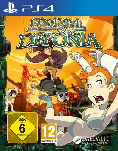 Goodbye Deponia - PS4 .