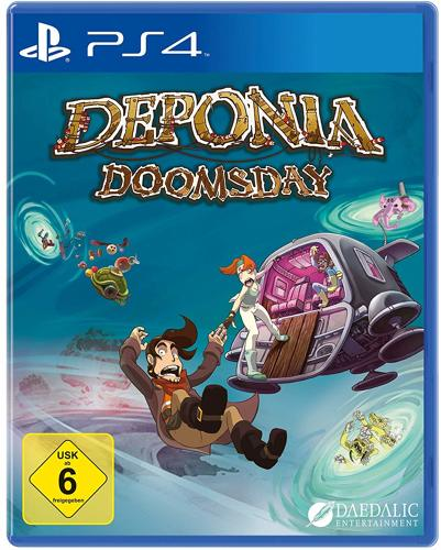 Deponia Doomsday - PS4 .