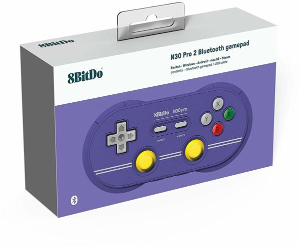 Controller N30 Pro 2, Bluetooth, C Ed, 8BitDo - alle Systeme .
