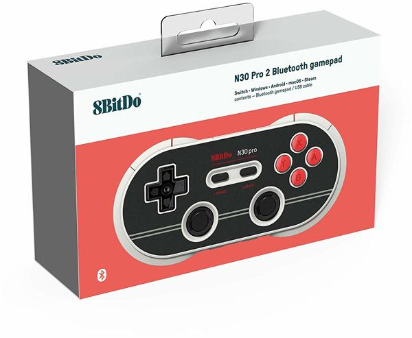 Controller N30 Pro 2, Bluetooth, N Ed, 8BitDo - alle Systeme .