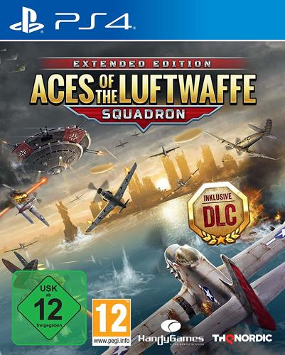 Aces of the Luftwaffe Squadron Extended Edition - PS4 .