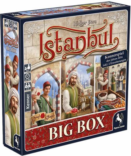 Brettspiel Istanbul