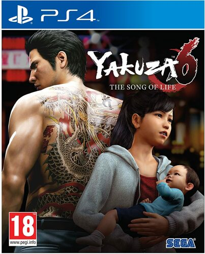 Yakuza 6 The Song of Life - PS4 [EU Version] .