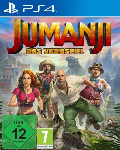 Jumanji Das Videospiel - PS4 .