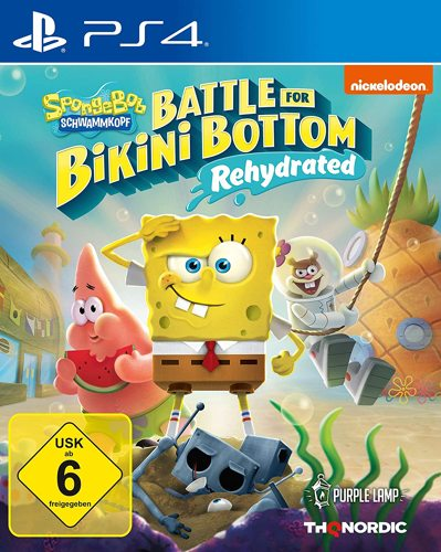 Spongebob Schwammkopf Battle for Bikini Bottom Reh.- PS4