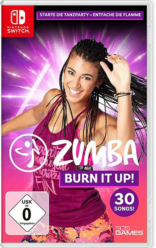 Zumba Burn it Up! - Switch [EU Version] .